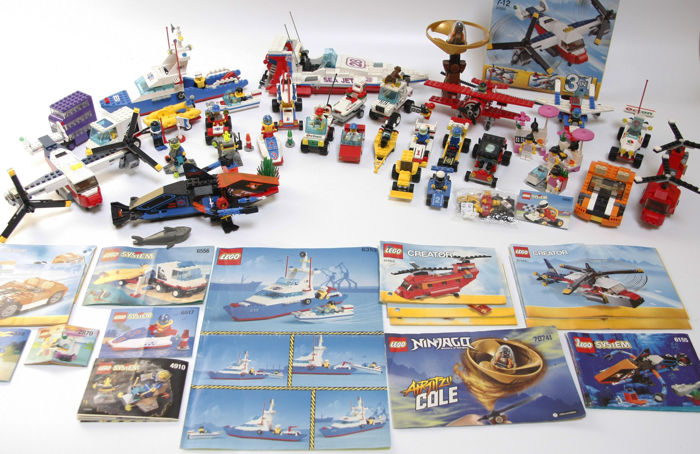 Assorted - 27 LEGO sets from various themes; Harry Potter, Model Team, Town, Creator, and more