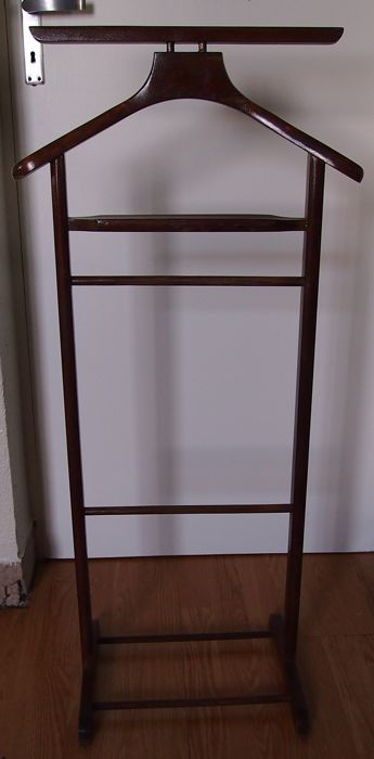 Valet de chambre simple frame - in wood - vintage of the 60/70\'s ...