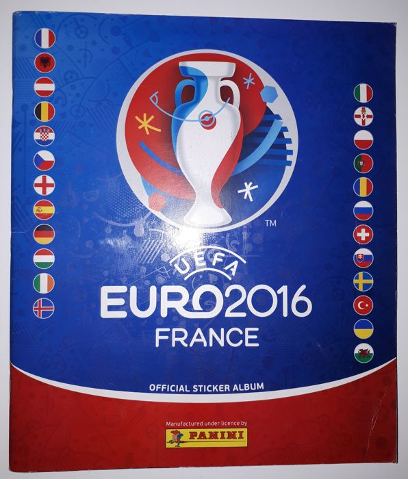 Panini - UEFA Euro 2016 France - Complete album German edition ... 380674726de4f