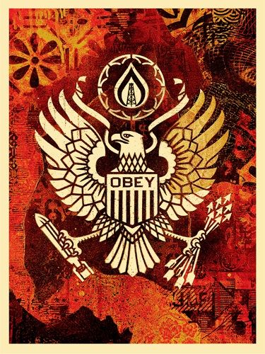 Shepard Fairey (OBEY) - Keep it Underground