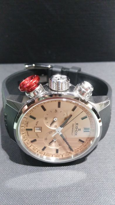 "Edox Chronorally ref.103023ROIN no reserve price men 2011 present days - ""NO RESERVE PRICE"""