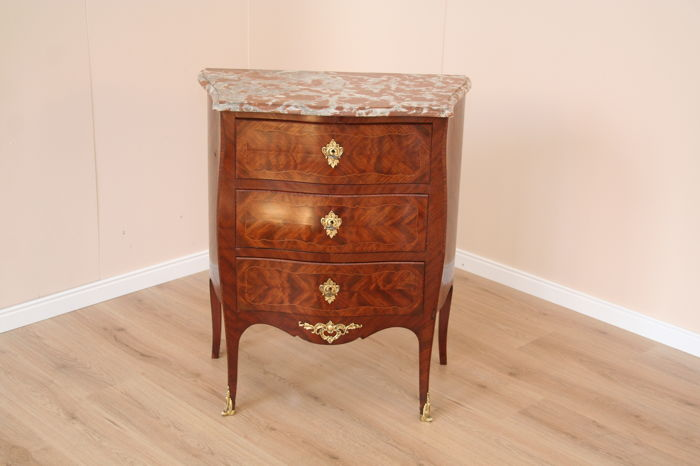 Louis XV commode, France, ca. 1880