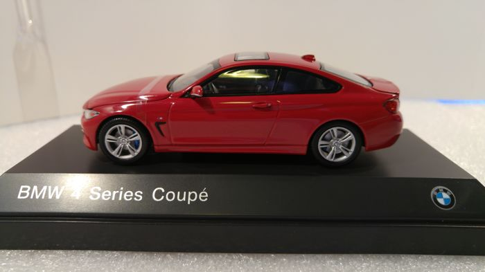 Other - Other - I Scale - Schaal 1/43 - BMW Series 4 Coupé 2013 - Melbourne rood