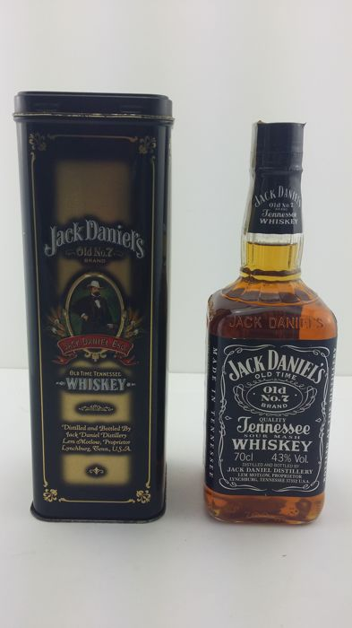 Jack Daniel's - Old Time Tennessee Whiskey - Old No.7 Brand