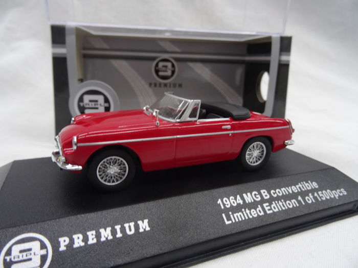 Triple 9 - 1:43 - MG B 1964  - Color Red - Limited 1500 pc