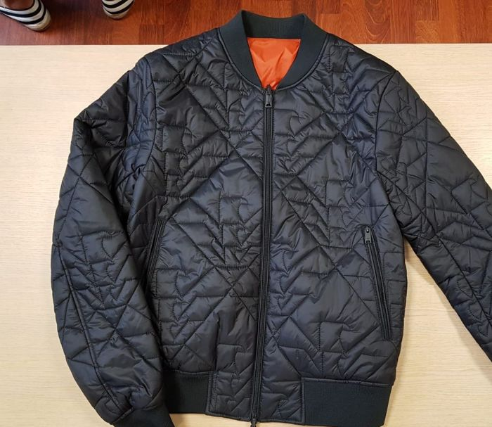 Emporio Armani - Never Used - Quilted Jacket - Catawiki aad22dfc6f