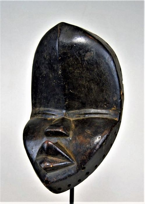 Rare and old Dean Gle mask - DAN - Ivory Coast