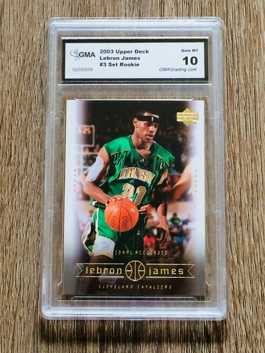 e9efe3065d1 Lebron James - 2003 Upper Deck Changing Times Box Set #3 - Grade 10 Mint