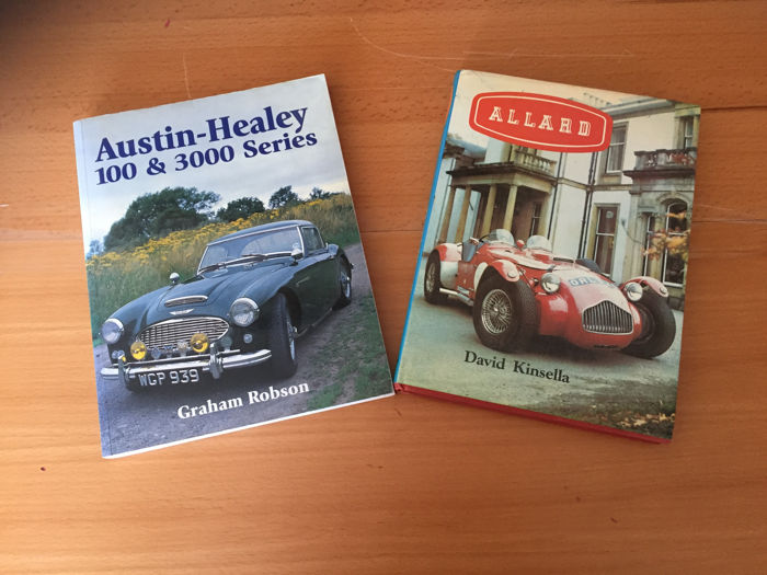 British Sportcars  - Austin Healey 100 and 300 Series & Allard  - 1970