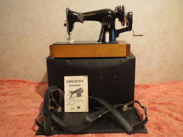 A rare sewing machine of the USSR. Limited production