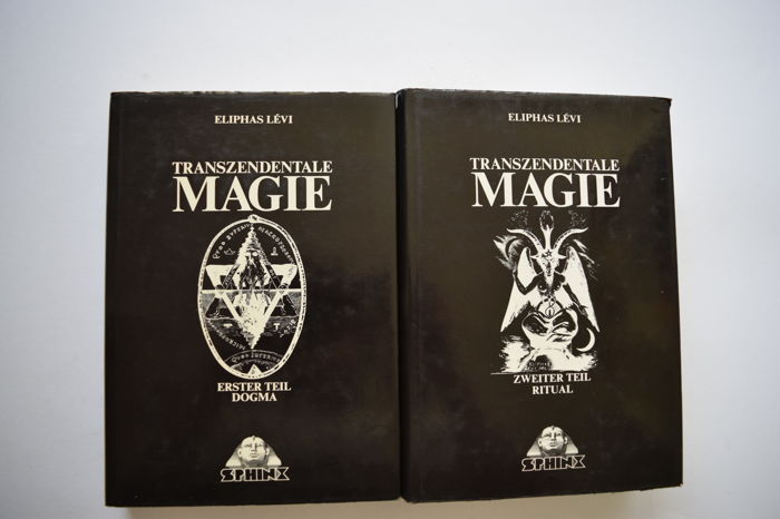 Eliphas Lévi a o  - Lot of six books on Magic - 1973/1981