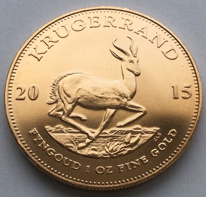 South Africa - Krugerrand 2015 - 1 oz - Gold