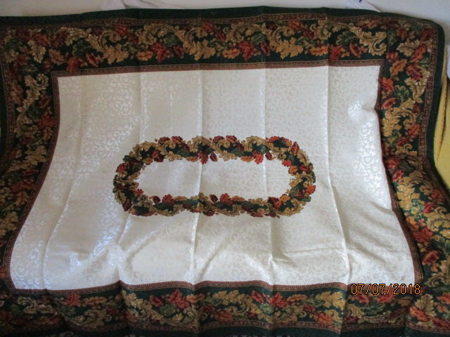 New Tablecloth Hand Painted Rare Object Catawiki