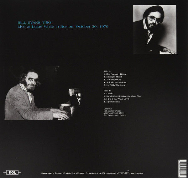Lots of 4 Bill Evans Albums, How My Heart Sings, Live At