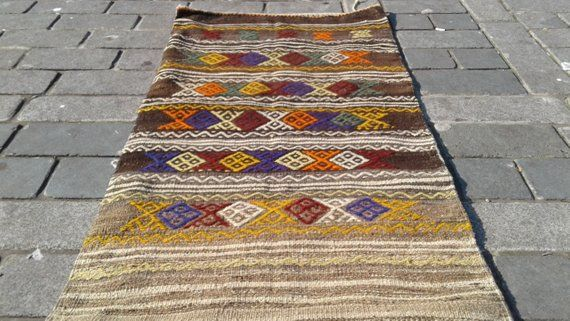 Turkish Kilim Chuval, 78x 145 Cm