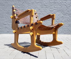 Angel Pazmino for Meubles de Estilo - Rocking chair
