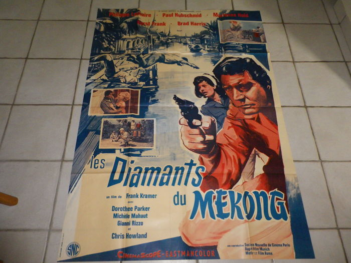 'Les Diamants du Mékong' movie poster