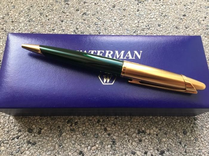 Extremely Rare Waterman Edson Emerald Green Ballpoint