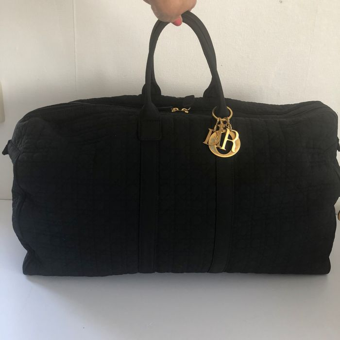 Christian Dior - Cannage - Lady Dior travel bag   weekend bag ... e904cc5c21530