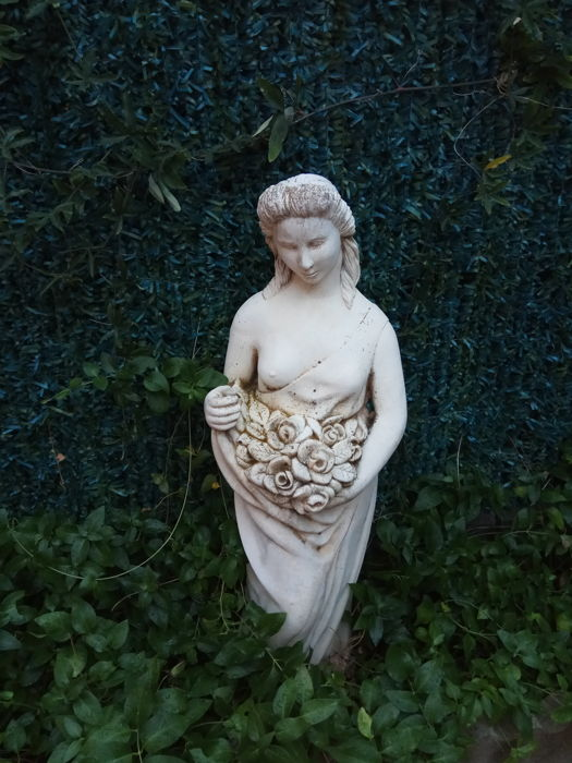 Greek goddess sculpture