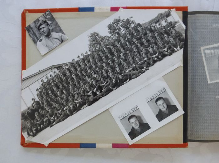 Photo album 1951 Military Infantry with 160 photos - the Netherlands