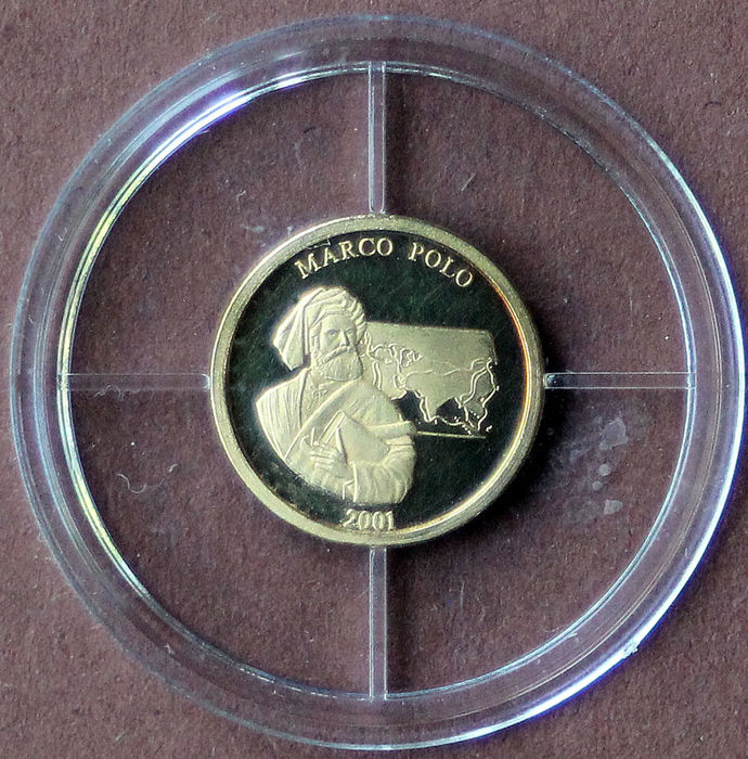 World - Medal 2001 'Marco Polo'  - Gold