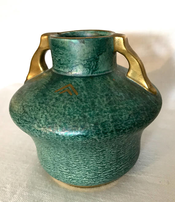 Art Deco vase by Josef Ekberg for Gustavsberg