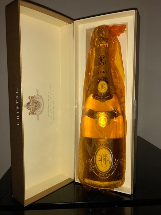 2002 Louis Roederer Cristal Brut Millesime, Champagne - 1 bottle in box