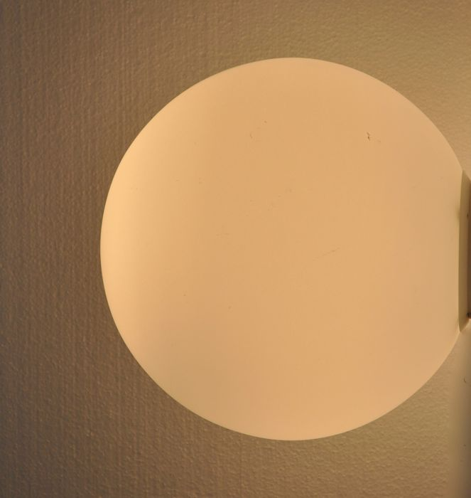 Michele De Lucchi for Artemide - Outdoor / Indoor wall and ceiling light - Model Dioscuri parete-soffitto 35