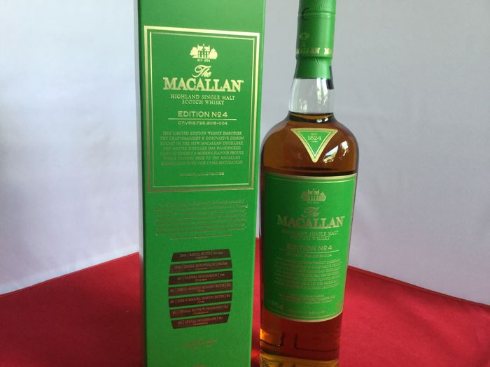 The Macallan Limited Edition No 4