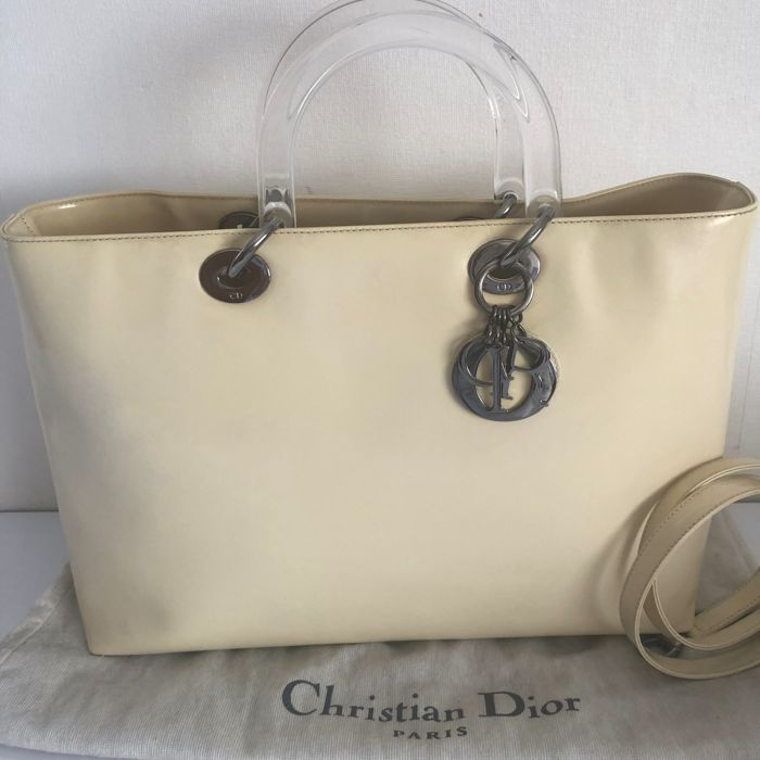 Christian Dior - Large Lady Dior met schouderband Shopper