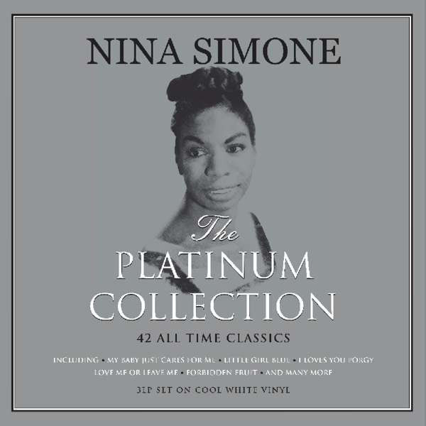 3 Ladies of Jazz, 3 Lp Nina Simone ‎– The Platinum Collection - 42 All Time Classics Color White, Billie Holiday ‎– Rare West Coast Recordings, Blanche Calloway Without That Gal!