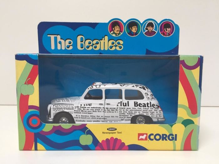 The Beatles - Newspaper Taxi
