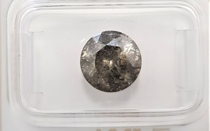 3.06 ct EXC/EXC/EXC Natural Fancy champagne  2