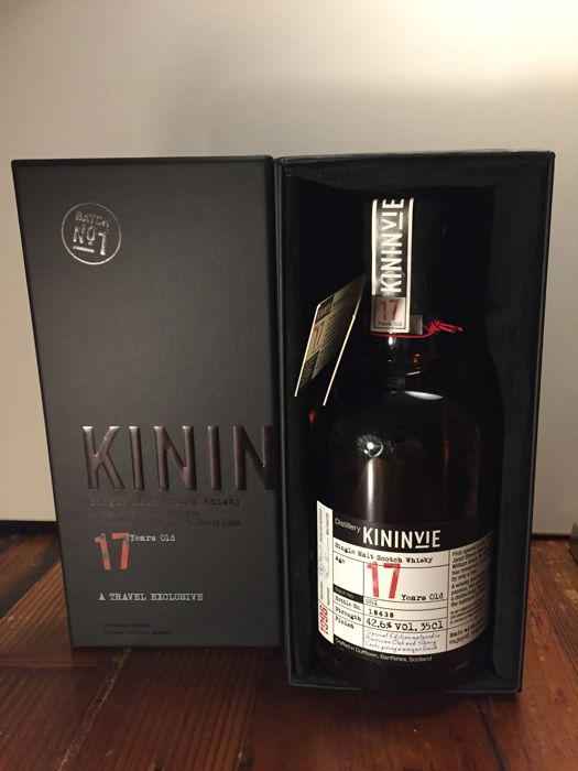 Kininvie 17 years old Batch 001 - 35cl - OB