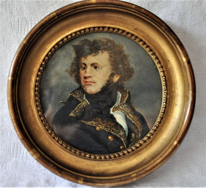 Marshal Moncey - Miniature - JULIO LOBO collection - France - Late 18th