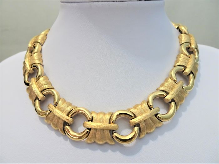 Givenchy -  XXL Gold Necklace - 1980s - Vintage