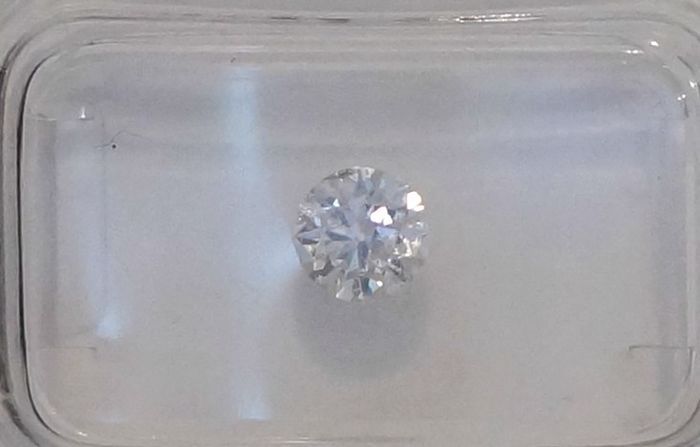 IGL 0.55ct F SI1 Natural Diamond  - Round Brilliant 3x EX  ****No Reserve Price***