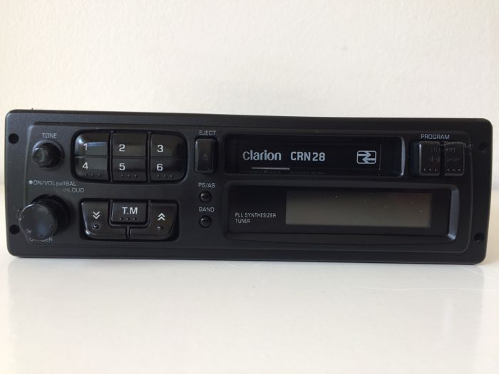 Clarion CRN28 Stereo - radio-cassette - 1992