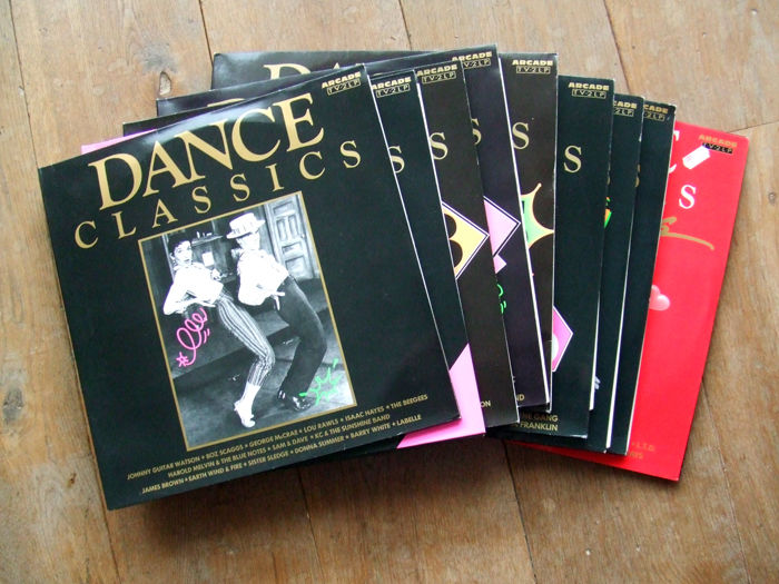 All the original vinyl Dance Classic albums: Volumes 1, 2, 3, 4, 5, 6, 7 and 8 , and extra: Dance Classics The Ballads