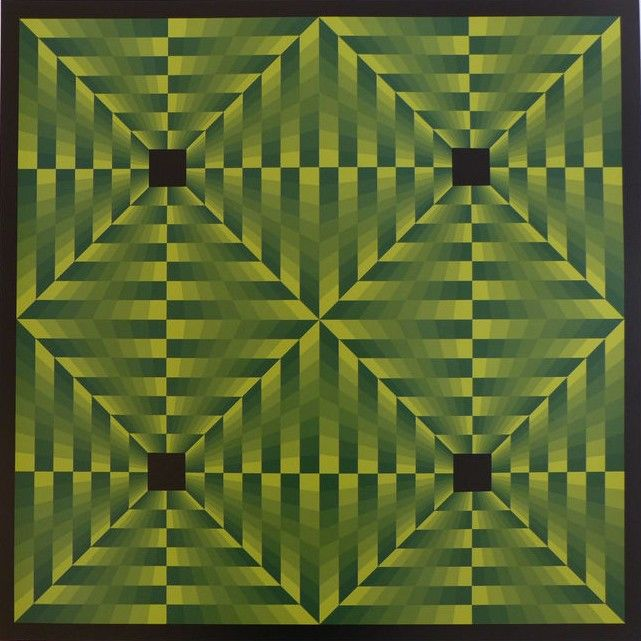 Jim Bird - Tribute to Vasarely 6 (vert)