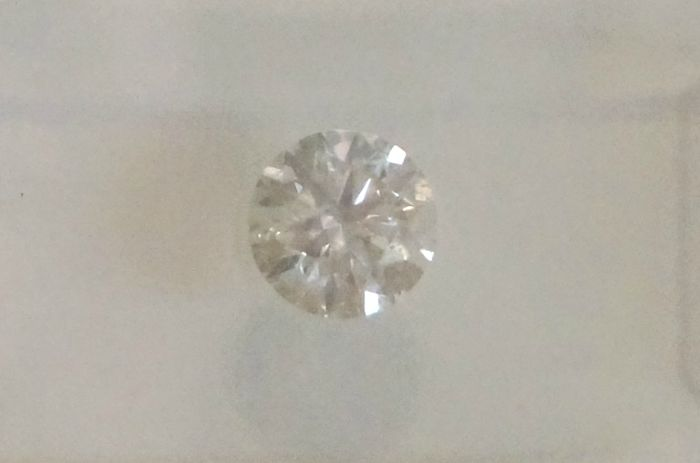 IGL 0.53ct F SI1 Natural Diamond  - Round Brilliant 3x EX  ****No Reserve Price***