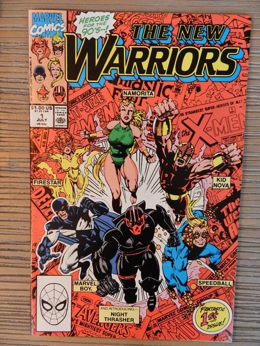 The - New Warriors # 1 - 54 & 3 annuals - 57x - Softcover - Eerste druk - (1990/1994)