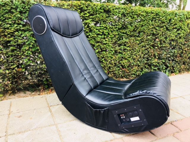 Charmant Producer Unknown   Lounge Chair With Speakers And Bass Box