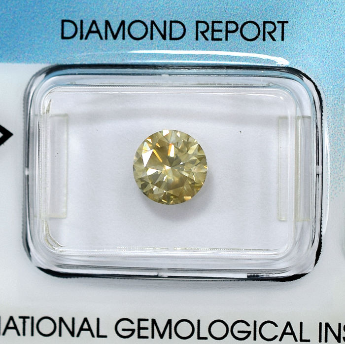 Diamant - 1.53 ct - Briljant - SI2
