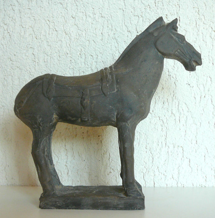 Terracotta horse - China - late 20th century