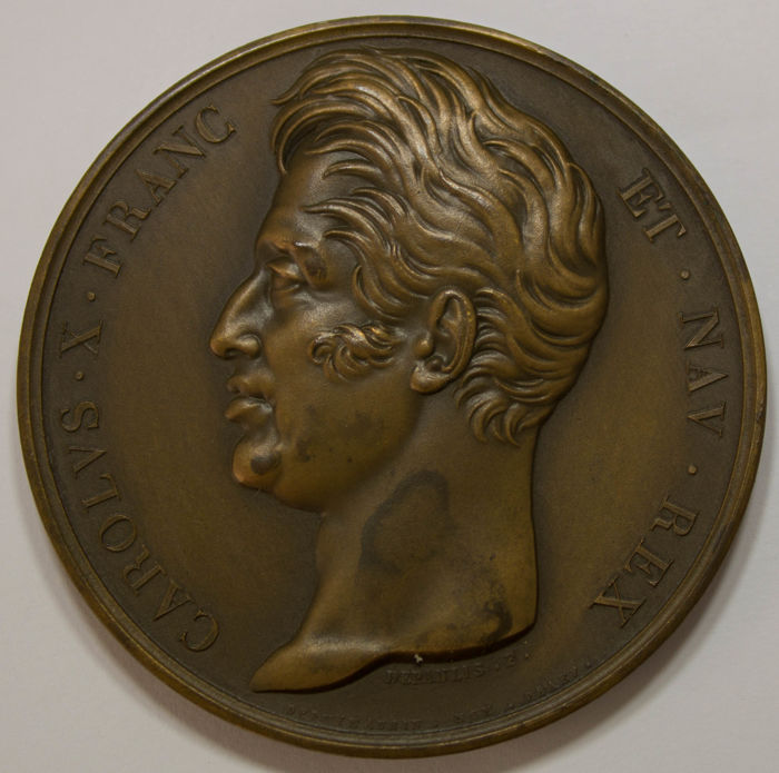 Frankrijk - Charles X, signed by Depaulis, 1795 - Other