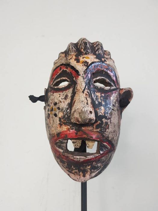 Very old   NIYAU face mask - CHEWA  Malawi