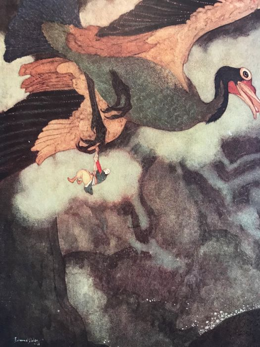 Edmund Dulac - Stories from the Arabian Nights - 1923