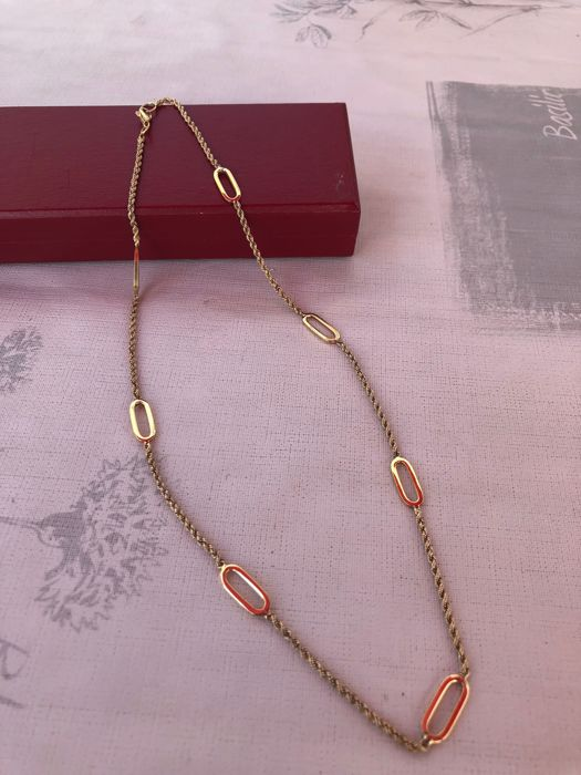Ladies' 18 kt gold necklace